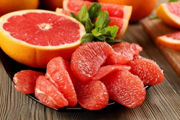 дольки фруктов