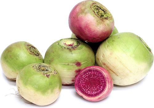 розовый овощ