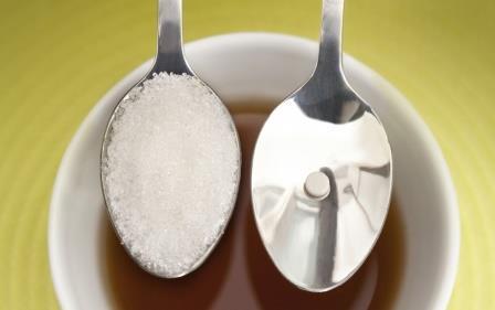 чайные ложки с сахаром
