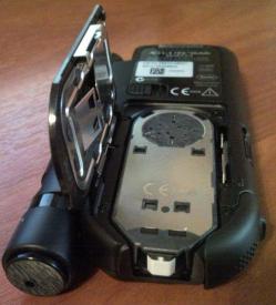 кассета с тест-полосками в глюкометре