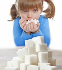 ребенок и сахар
