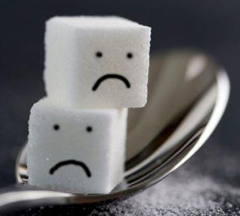 кубики сахара со смайлами