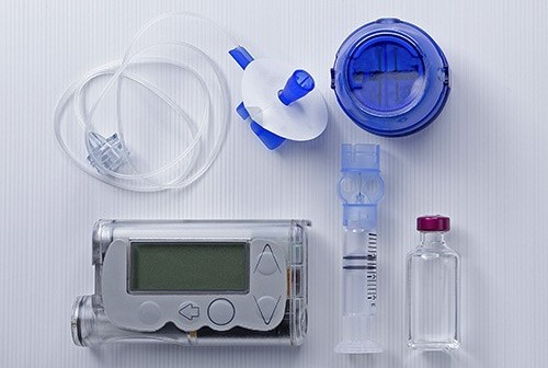 прибор для внедрения инсулина
