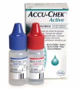 контрольный раствор для проверки глюкометров