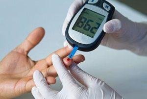 измерение сахара глюкометром
