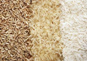 рисовые зерна