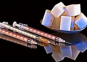шприцы и сахар