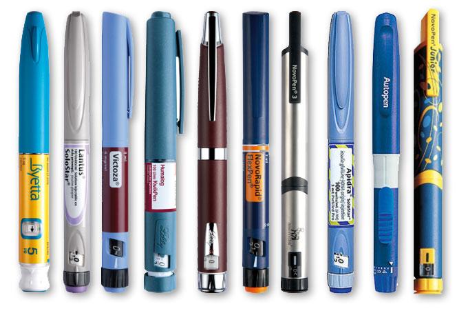 устройства для введения инсулина