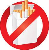 пачка сигарет под запретом