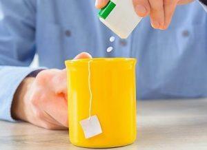 подслащивание чая