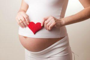 женщина в ожидании ребенка
