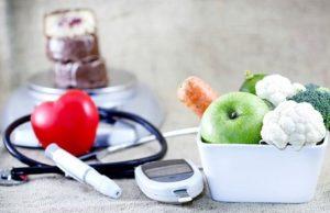 овощи и прибор для измерения сахара