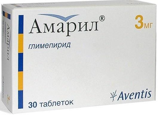 глимепирид в упаковке