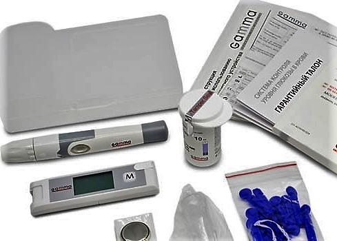 устройство для определения глюкозы в крови
