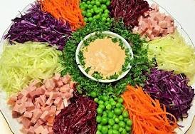 натертые овощи
