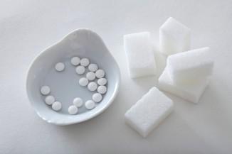 таблетки и рафинад
